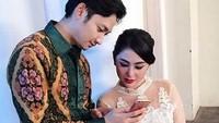 Dewi Persik dan Aang Angga Wijaya disebut telah menikah di Sumbersari, Jember pada 10 September lalu. (Dok. Instagram/anggawijaya88)