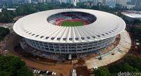 Stadion Utama GBK dari Ketinggian (Muhammad Abdurrosyid)