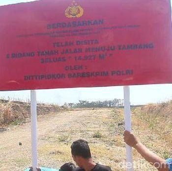 Terkait Korupsi di Sumbar, Polisi Sita 8 Bidang Tanah di Tegal