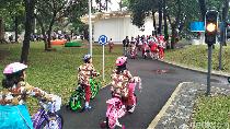 Intip Serunya Anak-anak Bermain di Taman Lalu Lintas Bandung