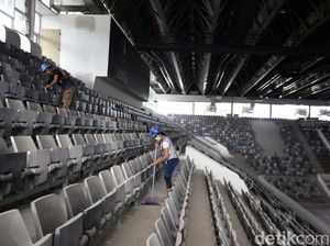 Istora Belum Mengakomodasi Atlet Basket dengan Tinggi 2 Meter