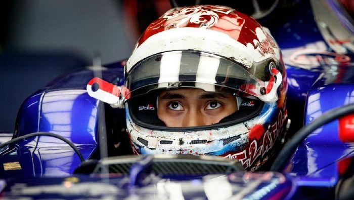 Sean Gelael saat sesi FP1 GP Malaysia musim lalu (Scuderia Toro Rosso)