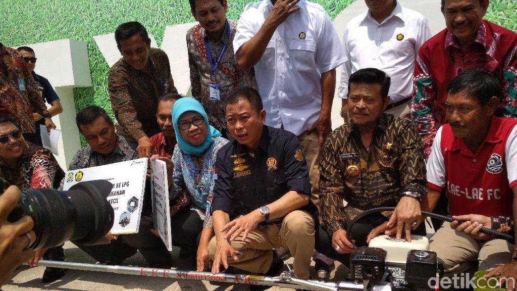 Jonan Tebar 2.375 Konverter Kit ke Nelayan di Sulawesi Selatan