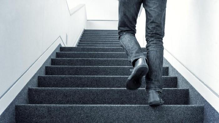 Tes naik tangga bisa beritahu risiko penyakit jantung. Foto: Thinkstock