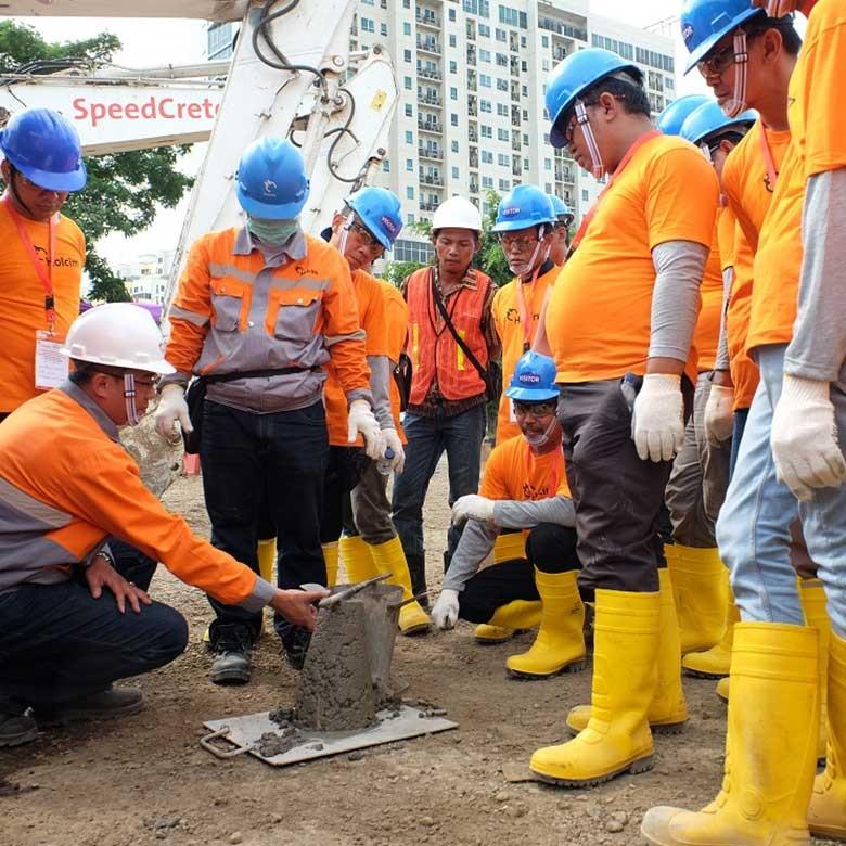 Pasukan Kuning Tingkatkan Keahlian dalam Perbaikan Infrastruktur