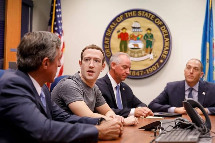 Mark Zuckerberg. Foto: Istimewa
