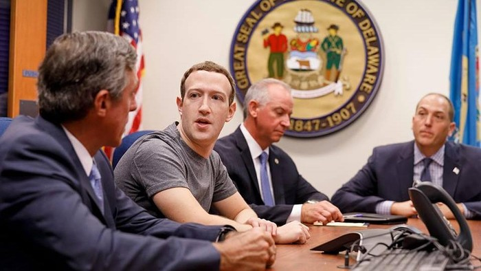 Mark Zuckerberg. Foto: Istimewa