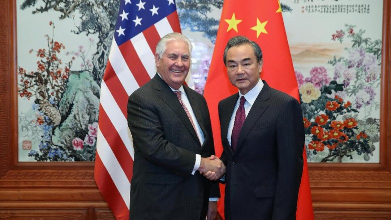 Menlu AS Kunjungi China untuk Bahas Ancaman Nuklir Korut