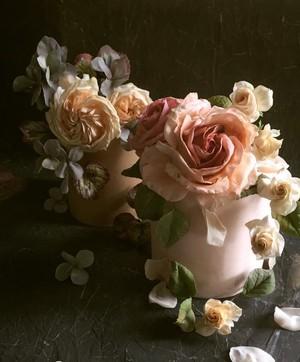 Cantik Banget! Cake Bunga Mawar Ini Persis Mawar Sungguhan