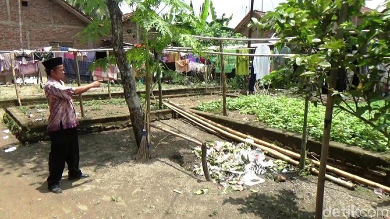 Rumah Letkol Untung di Kebumen Kini Jadi Tempat Jemur Pakaian
