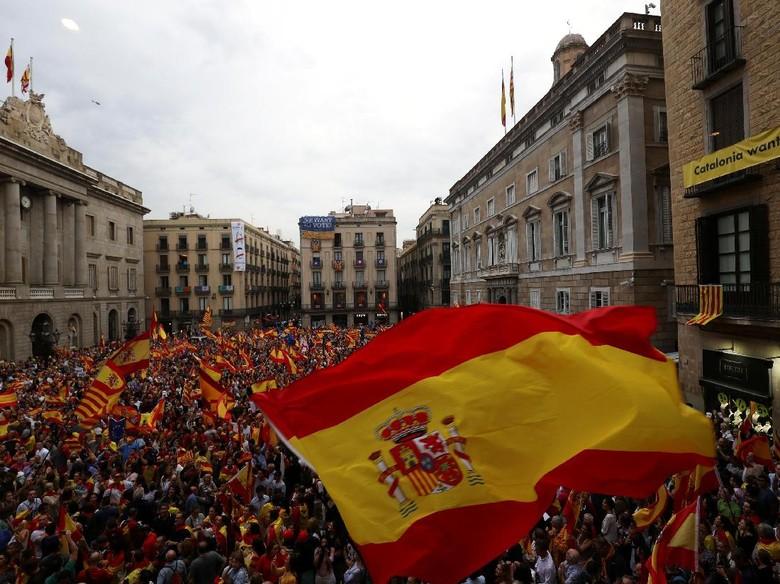 Masuki Babak Baru, Pemerintah Spanyol akan Ambil Alih Catalonia