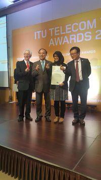 Indonesia Sabet Penghargaan di Panggung Telekomunikasi Dunia