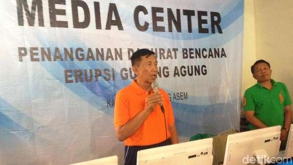 Gubernur Bali Imbau Seluruh Pengungsi Gunung Agung Pulang