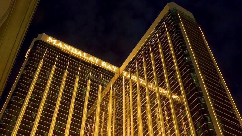 Penembak Las Vegas Kakek-kakek, Banyak Senapan di Kamar Hotelnya