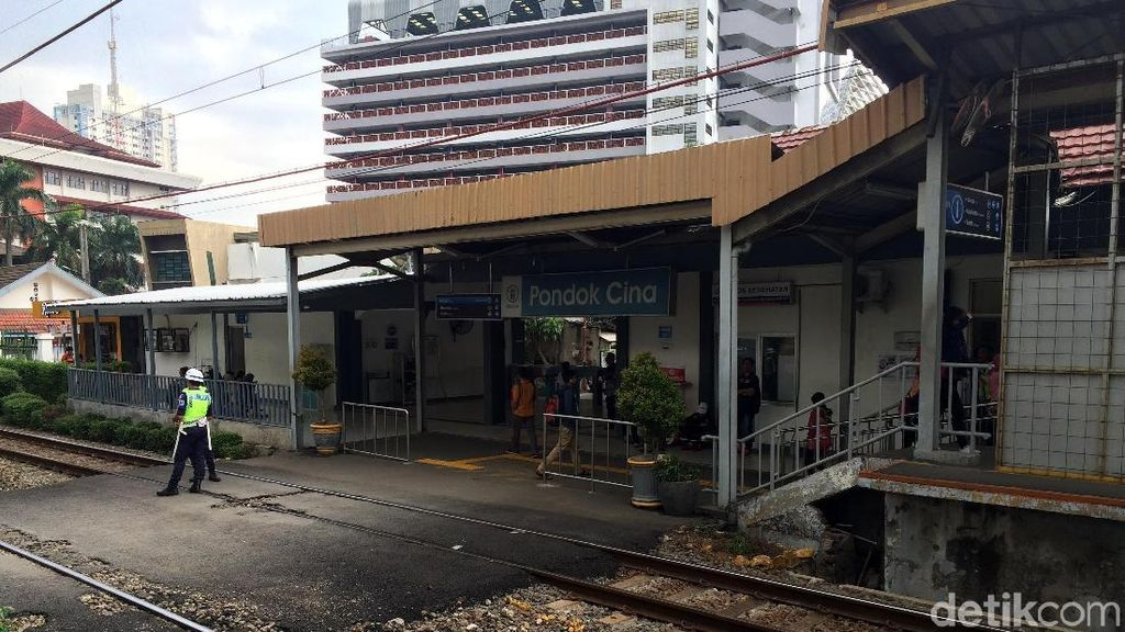Rusun Nempel Stasiun Pondok Cina Dikebut, Sekarang Sudah 30%