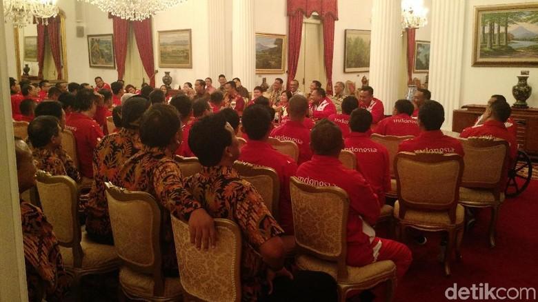 Jokowi Minta Indonesia Finis Peringkat Kelima di Asian Para Games 2018