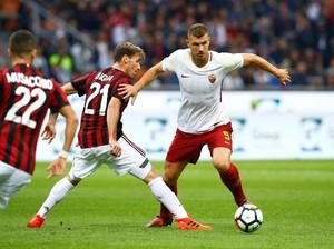 Konsistensi Milan Diuji Roma