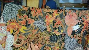 Motif yang Rumit, Membuat Batik Lasem Diburu Kolektor