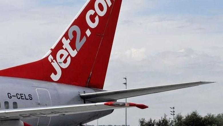 Foto: Ilustrasi pesawat Jet2 (John Guillemin/Bloomberg via Getty Images)