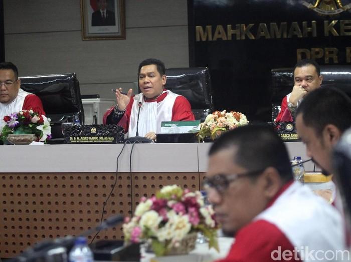Suasana ruang sidang MKD DPR (Lamhot Aritonang/detikcom)