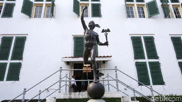 Patung Dewa Hermes di Museum Fatahillah