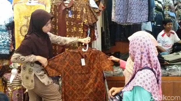 Di Pasar Beringharjo, Batik Printing dan Cap Paling Banyak Diminati