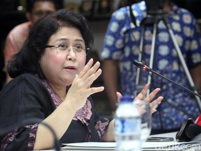 Elza Syarief Penuhi Panggilan MKD DPR (Lamhot Aritonang/detikcom)