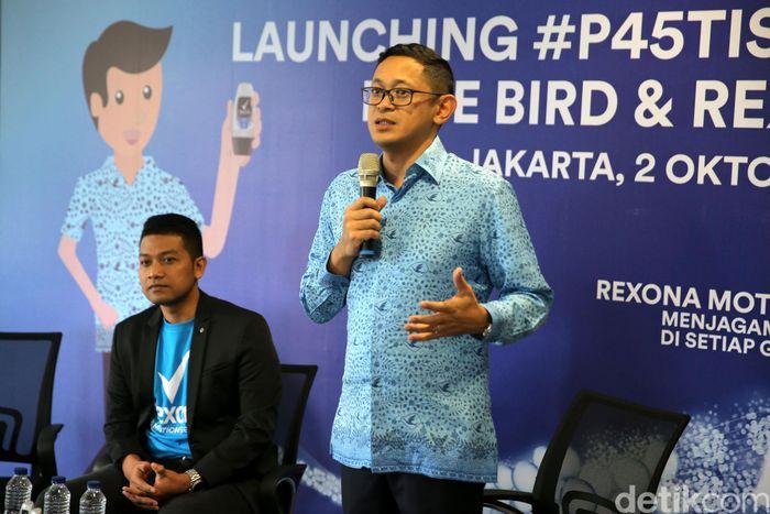 PT Blue Bird Tbk dan PT Unilever Indonesia Tbk meluncurkan program #P45TISEGAR.