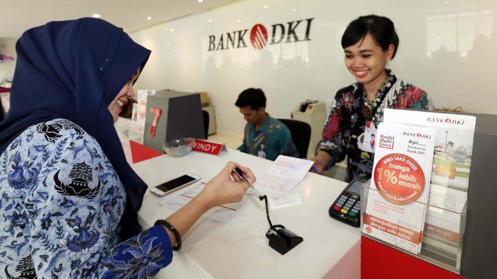 Kuartal II/2018, Bank DKI Catat Pertumbuhan Kredit 9,34%