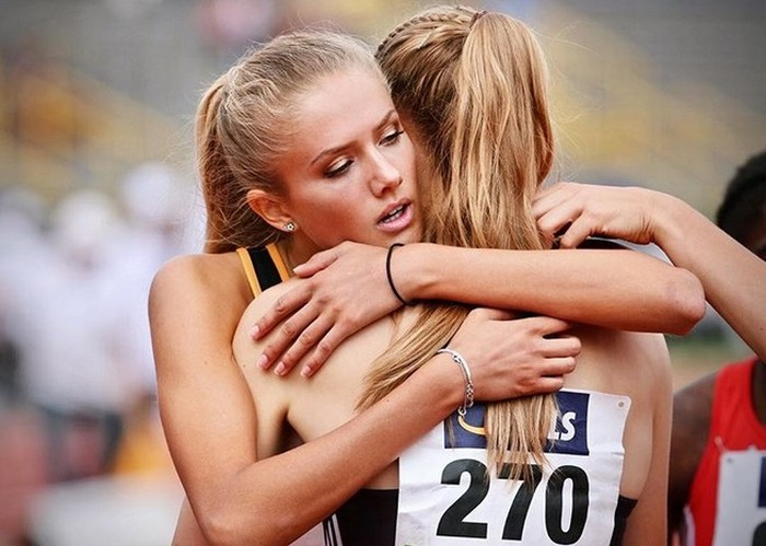 Alicia Schmidt, atlet paling seksi di dunia.