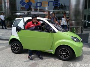 Satu Lagi Mobil Listrik Karya Anak Bangsa, Smartvi!