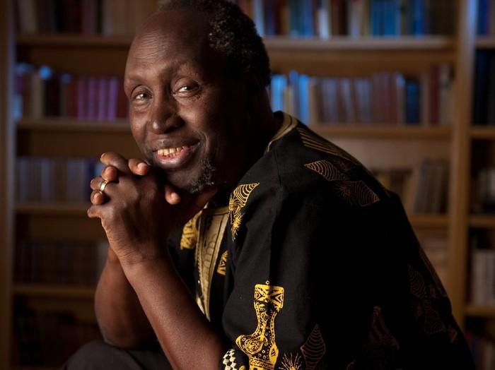 Kenyan author Ngugi wa Thiongo is also a Professor at University of California, Irvine.