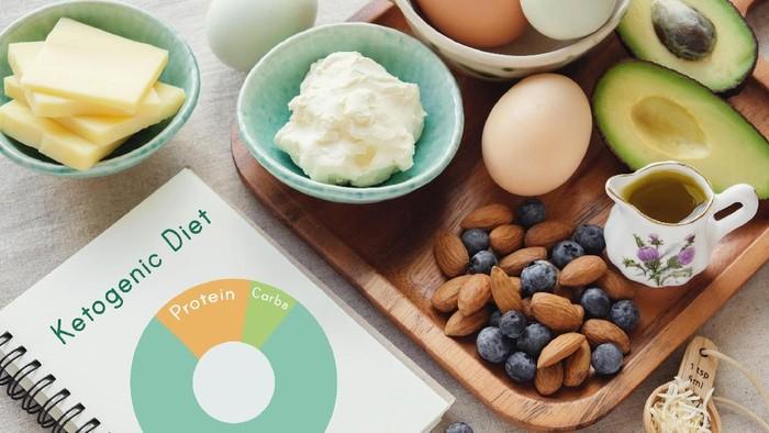 Ilustrasi diet yang mirip diet keto. Foto: thinkstock
