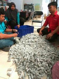 Ini Kisah di Balik Cerita Viral Nabung Uang Receh Jadi Rp 60 Juta