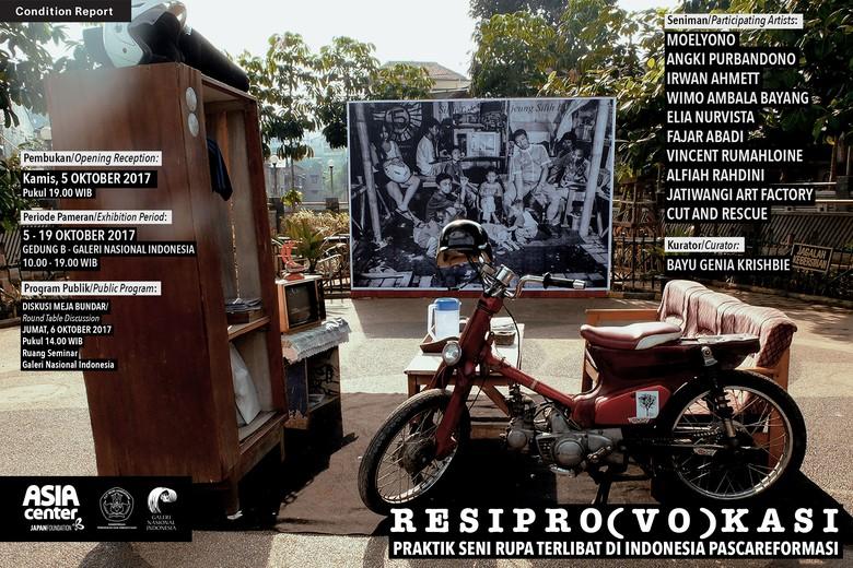10 Perupa Ikuti Pameran Seni RESIPRO(VO)KASI di Galeri Nasional Indonesia