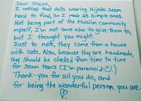 Viral, Muslimah Kanada Dihadiahi 25 Boneka Berhijab oleh Orang Misterius