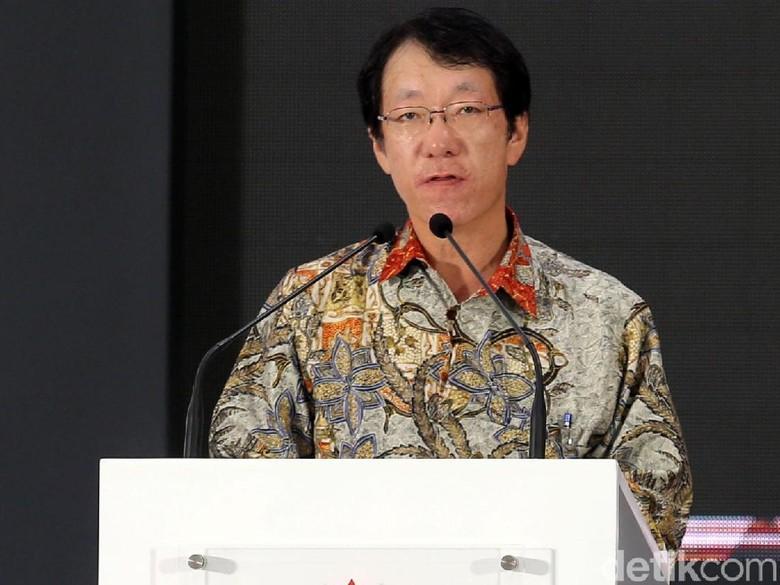 Presiden Direktur PT Mitsubishi Motors Krama Yudha Indonesia Takao Kato. Foto: Agung Pambudhy