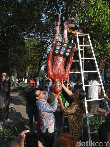 Ada Display 54 Karya Seni Patung di Kawasan Kotabaru Yogyakarta