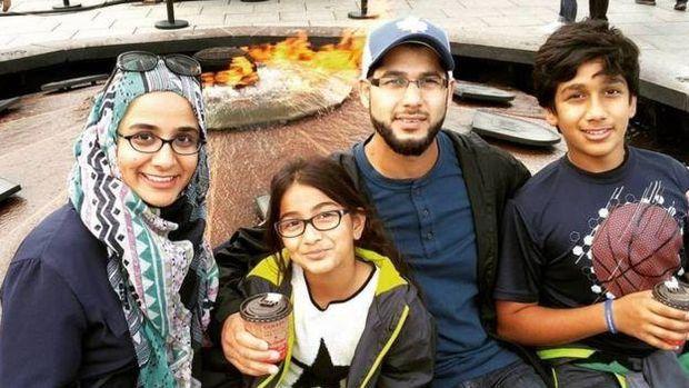Keluarga Sheza Hasan.