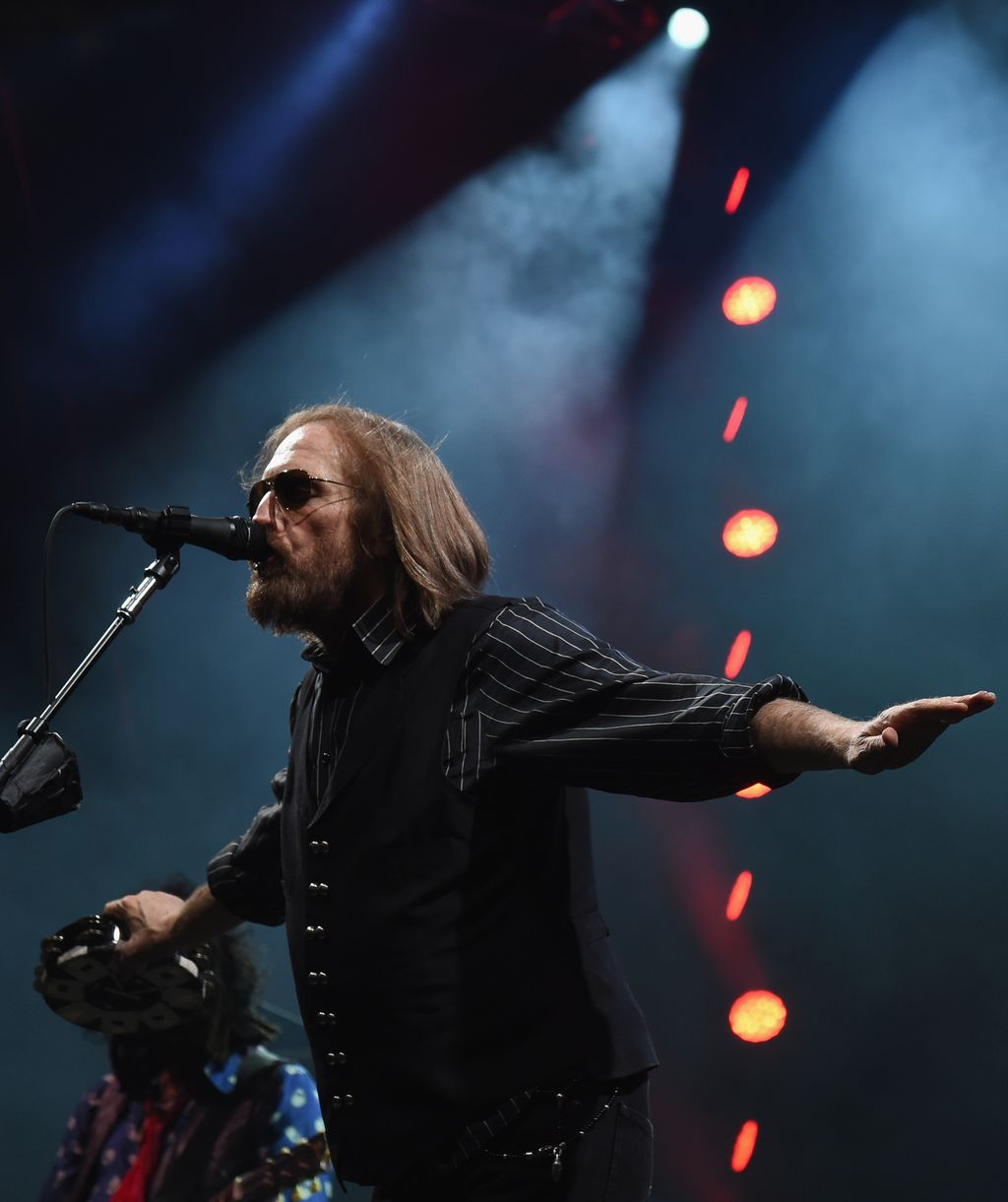 NASHVILLE, TN - APRIL 25:  Tom Petty of Tom Petty and the Heartbreakers performs during their 40th Anniversary Tour at Bridgestone Arena on April 25, 2017 in Nashville, Tennessee.  (Photo by Rick Diamond/Getty Images for Sacks & Co)