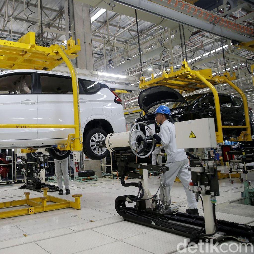 Jelang Akhir Tahun, Mitsubishi Rem Produksi Xpander