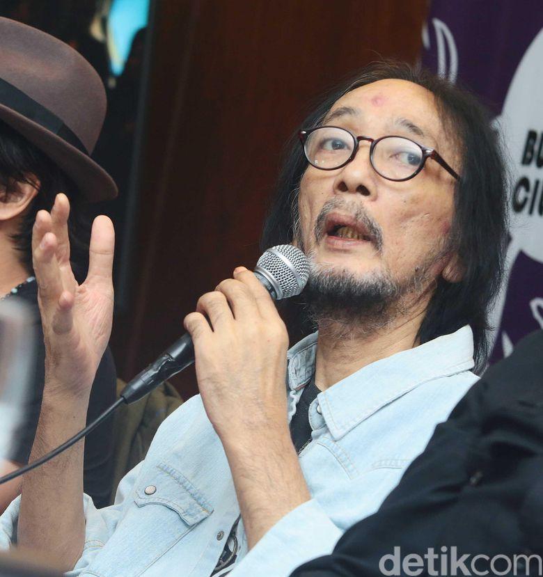 Meninggalnya Yockie Suryo Prayogo menjadi kabar duka yang menyelimuti dunia musik Tanah Air pekan lalu. Foto: Ismail / detikHOT