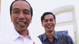 Ngevlog, Jokowi Diajari Bahasa Isyarat oleh Putra Dewi Yull