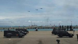 Melihat Lagi Perayaan HUT ke-72 TNI