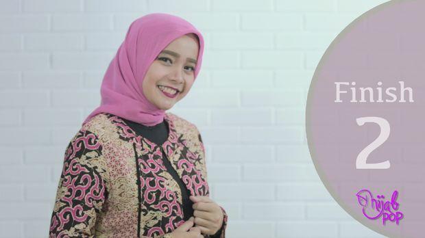 Tutorial hijab ala ibu pejabat.