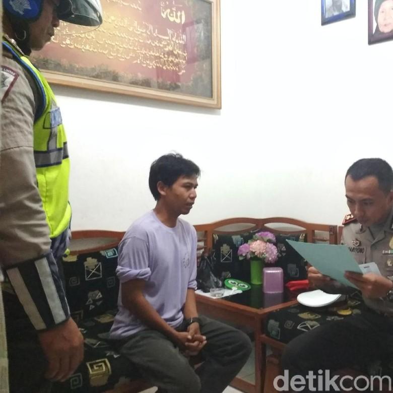 Kagetnya Asep Saat Polisi Menilang di Kediamannya