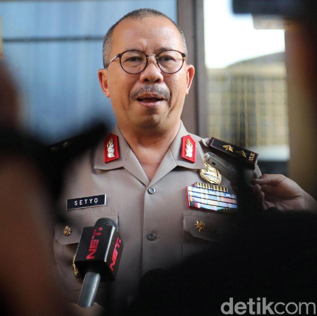 Kadiv Humas Mabes Polri Cek Penembakan di DPR, Temui Bamsoet