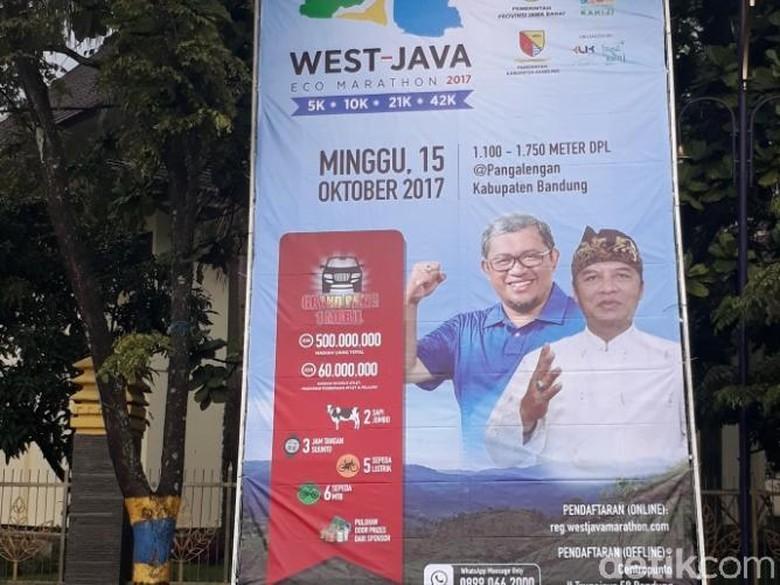 West Java Eco Marathon, Jalan di Pangalengan akan Dibuka Tutup