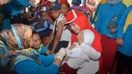 Perpanjangan Imunisasi MR di Lamongan Libatkan TNI dan Polri
