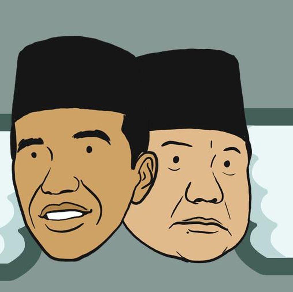 Jelang Debat Soal Pangan: Prabowo Gerakan Emas, Jokowi Manusia Unggul